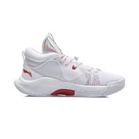 LI-NING 李宁 Silencer CJ.迈克勒姆 男子篮球鞋 ABPQ049-3 白色 39