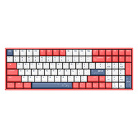 IQUNIX F96 缤纷夏日 无线机械键盘 蓝牙cherry