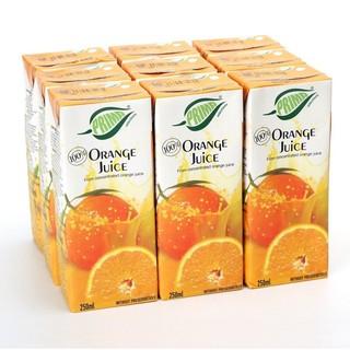 PRIMA 普瑞达 地中海塞浦路斯进口 普瑞达(PRIMA) 橙汁 250ml×9瓶