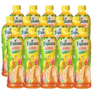 Tropicana 纯果乐 果缤纷 金橙奇异味 果汁 饮料 500ml*15瓶 整箱装 百事出品