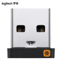 logitech 罗技  USB优联接收器 无线鼠标键盘接收器 黑色