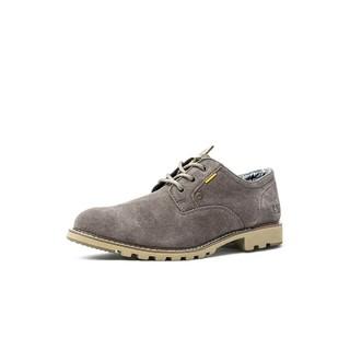 CAT 卡特彼勒 牛皮/牛剖皮柔软轻盈舒适防滑耐磨男休闲皮鞋