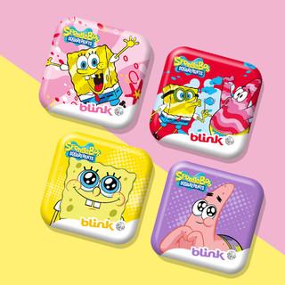 bLink 冰力克 德国进口blink冰力克无糖果粉薄荷糖含片清新口气清凉接吻糖海宝