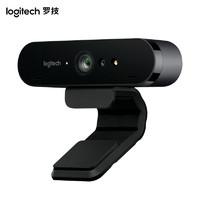 logitech 罗技 C1000e 4K超高清广角摄像头 内置麦克风 黑色