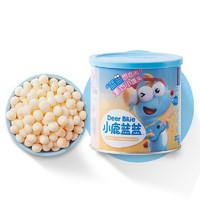 小鹿蓝蓝  三只松鼠旗下品牌 牛奶小馒头160g 宝宝零食溶豆入口即化儿童饼干营养奶豆
