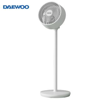 DAEWOO 大宇 大宇(DAEWOO)空气循环扇 落地扇电风扇 家用落地扇对流涡轮节能省电 立体摇头学生宿舍转页扇台式电扇 X1
