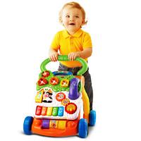 vtech 伟易达 伟易达(VTech)婴儿多功能学步车宝宝手推车玩具学走路助步车早教启智玩具 宝宝六一儿童节礼物