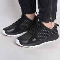 THE NORTH FACE 北面 北面徒步鞋女2021新款透气网布休闲鞋户外运动缓震耐磨板鞋32ZV