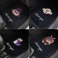 SHUNWEI 舜威 潮牌汽车脚垫通用易清洗卡通防滑脚踏垫车地垫可爱车用垫子脚垫女