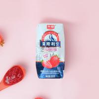 Bright 光明 光明莫斯利安草莓酸酪风味酸奶200g*12盒整箱早餐奶