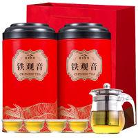 京东PLUS会员 : 辣喜爱 安溪铁观音茶叶 500克(带一壶四杯)