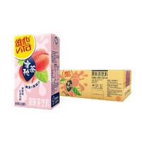 vitasoy 维他奶 维他蜜桃茶饮料250ml*24盒 整箱装 水果汁 果味茶饮料