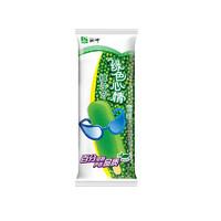 MENGNIU 蒙牛 经典绿色心情绿莎莎雪糕冰淇淋棒冰冰棍无蔗糖绿豆雪糕70克50支