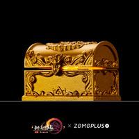 ZOMO PLUS 剑网3xZOMOx阿米洛 剑网三玄晶宝箱 驰骋天策门派 金属透光键帽 玄晶