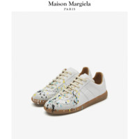 Maison Margiela马吉拉 女士时髦涂鸦设计德训鞋休闲鞋