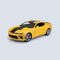 Maisto 美驰图 正版授权名车 仿真合金车模型 1:18雪佛兰科迈罗大黄蜂合金车模