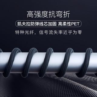 FIBBR 菲伯尔 U系列光纤HDMI线光纤数字高清线 15米