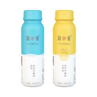简爱 酸奶 水果裸酸奶 230g*12