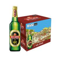 珠江啤酒(PEARL RIVER)12度 经典老珠江啤酒600ml*12瓶 整箱装