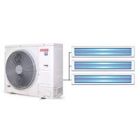 Hitachi 日立中央空调一拖三 小4匹变频家用 RAS-100HRN5QB 白色