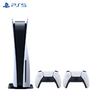 SONY 索尼 国行 光驱版 PlayStation5 PS5 游戏机+DualSense手柄套装