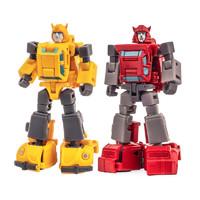 Hasbro 孩之宝 NA 小比例迷你变形玩具 H25小黄蜂 HERBIE H26飞过山 套装 现货
