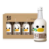 花田巷子 桂花米露 稠酒 低度甜米酒 礼盒装 0.5度 375ml*4瓶装