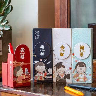 三年二班 文具盒女小学生可折叠站立式笔筒铅笔盒大容量男童可爱卡通多功能创意文具收纳网红高颜值便携笔盒