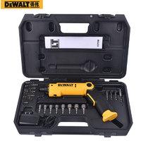 得伟(DEWALT)锂电起子工具箱套装 8V 充电式电钻电动手枪钻DCF008-A9企业专享
