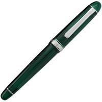 白金 钢笔礼盒装男女士签字笔墨水套装办公文具用品商务礼品 PNB-15000CR 透绿 M尖