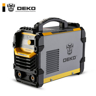 DEKO 代高 ZX7-250ED电焊机220V380V两用双电压全自动直流家用小型手工焊机 16方5米接地线+10米焊把线