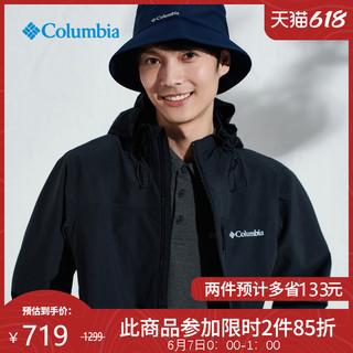 Columbia 哥伦比亚 户外21春夏新品防水夹克冲锋衣男机织外套RE0085