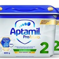 Aptamil 爱他美 白金较大婴儿 宝宝HMO配方奶粉2段6个月以上*4罐装二段进口