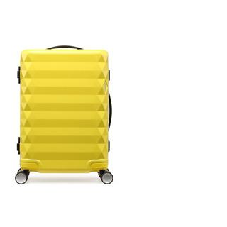 AMERICAN TOURISTER 美旅 2021新品智能行李箱男时尚潮流女旅行拉杆箱ins网红结实耐用密码箱TV2 黄色 20寸
