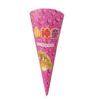 天冰 小神童香芋巧克力草莓味脆筒整箱雪糕冰棍冰淇淋冷饮63g*30支 香芋30支装