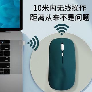 8thdays 苹果无线蓝牙鼠标macbook air pro笔记本电脑台式一体充电静音