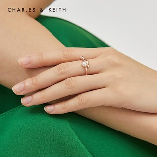 CHARLES & KEITH CK5-31470083 女士珍珠设计时尚个性戒指