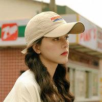 PICASSO 乘风破浪的姐姐同款帽子欧美复古棒球帽休闲百搭街头鸭舌帽酷 卡其 54-56cm