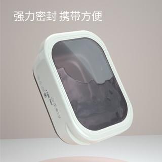 韩国304不锈钢饭盒小学生餐盒防烫隔热密封盖冰箱收纳外出便当盒