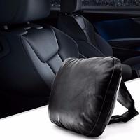 Carslands 卡斯兰 奔驰头枕 S级迈巴赫奥迪车用靠枕靠背腰枕护垫车内麂皮 头枕 全皮款