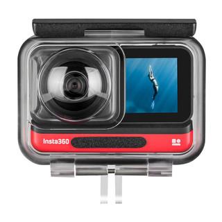 TELESIN insta360 ONE R全景版防水壳配件全景相机运动相机 45米防水