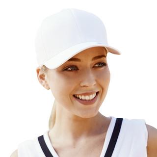 FLEXFIT 帽子男啊姆明星帽子夏季休闲遮阳帽子女新品时尚潮流 白色 S/M(55cm-58cm