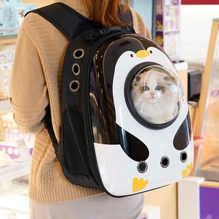 小囧(LitJoin)  太空舱便携双肩宠物背包