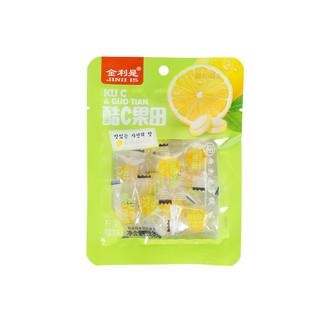 利是堂水果薄荷糖1包柠檬味水果糖