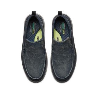 SKECHERS 斯凯奇 男鞋 复古帆布鞋 潮流低帮鞋休闲鞋65901
