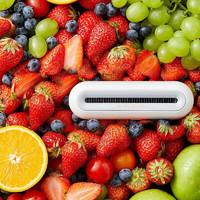小米有品 世净EraClean冰箱除味消毒器家用臭氧杀菌空气净化机保鲜除臭去异味冰箱空气净化器 白色Max款