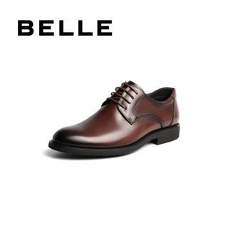 BeLLE 百丽 BELLE/百丽新款牛皮革男通勤商务正装皮鞋20128CM0