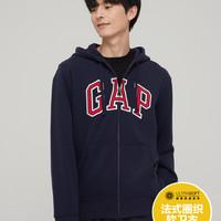 Gap 盖璞 男装 徽标LOGO 法式圈织软卫衣