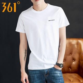 361度运动速干短袖T恤男2021夏季新款361圆领宽松透气半袖学生y