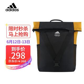 adidas 阿迪达斯 Adidas)三叶草双肩包休闲包运动背包学生书包 黑色
